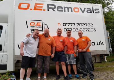 Team photo oe removals retford